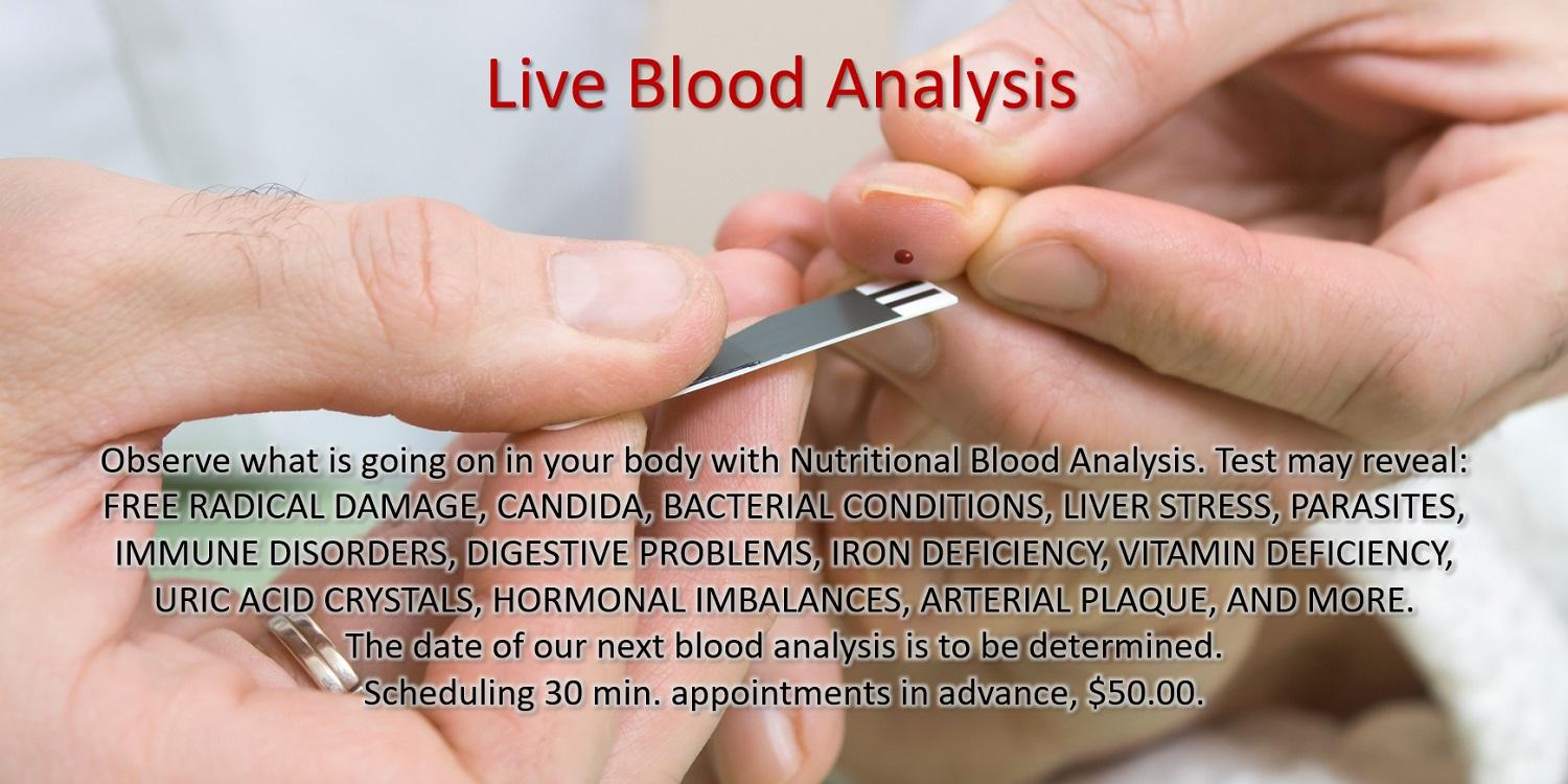 live blood analysis